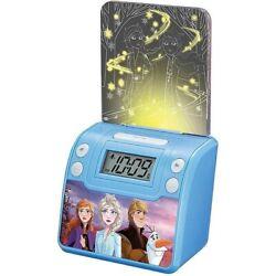 NEW - Frozen 2 Digital Alarm Clock with Night Light, Alarm Clocks