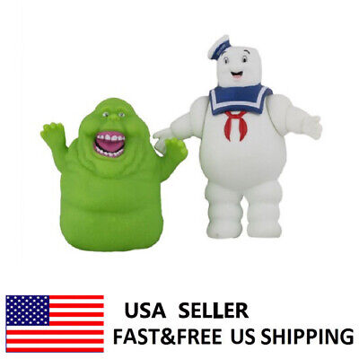 Ghostbusters Marshmallow Man Slimer Green Ghost Action Figure Doll Toy Kids - Ghostbuster Kids