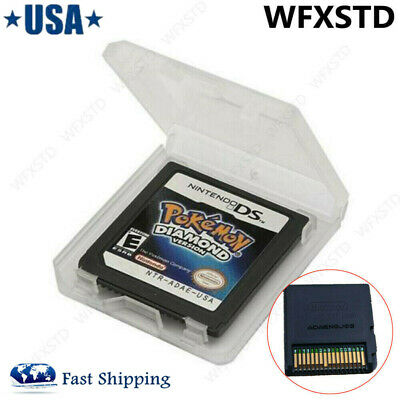 Pokemon: Diamond Version Nintendo Version Game Cartridges For DS 3DS NDSI 2DS US