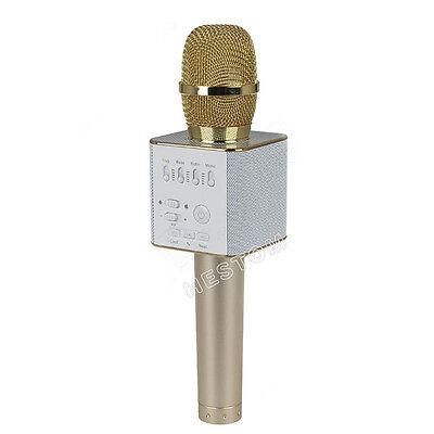 Q9 Wireless Handheld KTV Mic Speaker Bluetooth Karaoke Microphone USB Player