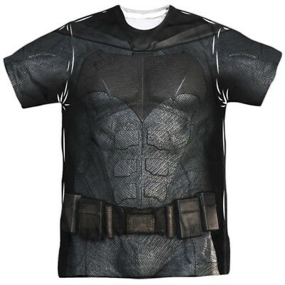 Batman Uniform (Justice League Movie Batman Uniform Costume Outfit Allover FRONT T-shirt)