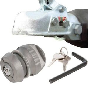 Insertable Hitch Coupling Lock Hitchlock Caravan Trailer Tow Ball Security High