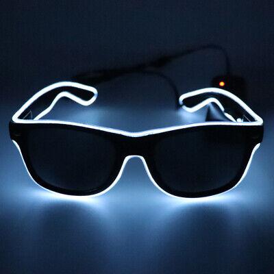Optional Leuchten El Wire Neon Rave Brille Twinkle A1O2 (Led Brille Rave)
