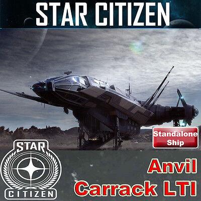 Star Citizen - Anvil Carrack Incl Pisces Snub Ursa - LTI Lifetime Insurance  - $450.00