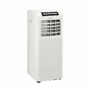 Haier Portable 8,000 BTU AC Window Air Conditioner Unit with Remote, White