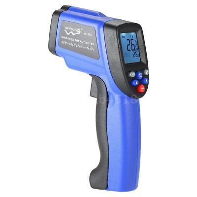 WT900 LCD Digital Infrarot Laser Thermometer Pyrometer Temperatur Messgerät A6E4