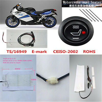Motorcycle Cushion Heater Insulation Kit for any fabric/leather/vinyl cover