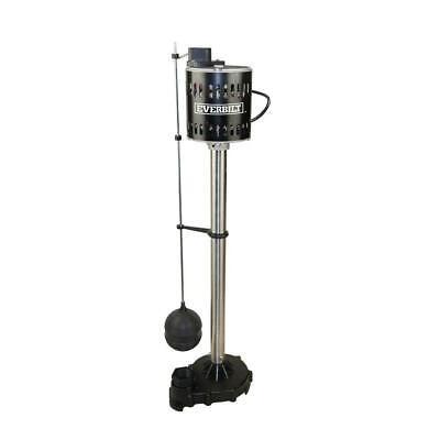 Everbilt 1/2 HP Pedestal Sump Pump 1/2 Hp Pedestal Sump Pump