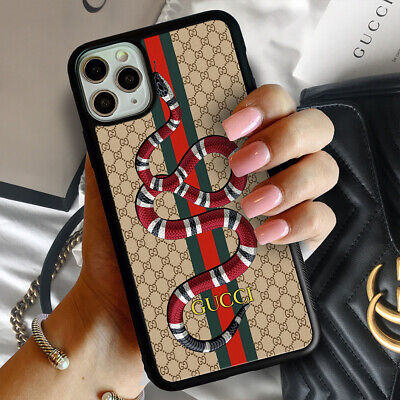 Case iPhone 7 8 X XR XS Guccy845rCases 11 Pro Max Snake Galaxy S20 Note 10 06