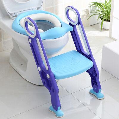 Vasino per bambini - Riduttore WC per bambini con scaletta,Pieghevole