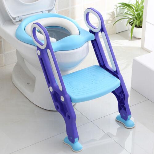 3 in 1 Toilettentrainer mit Treppe für Kinder Lerntöpfchen WC Sitz Töpfchen