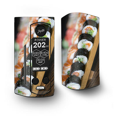 Skin Decal for Wismec Reuleaux RX Gen3 Dual Vape / Sushi california roll japane