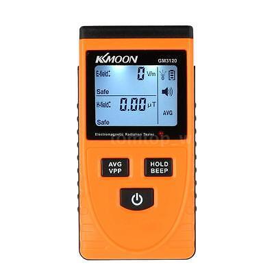 GM3120 Digital LCD Electromagnetic Radiation Detector EMF Meter Dosimeter E8S4