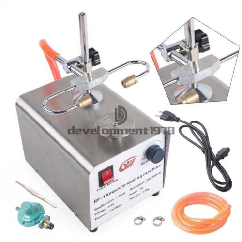 RF-1 Type Ampoule Melting And Ampoule Sealing Sealer Machine For Lab Seal