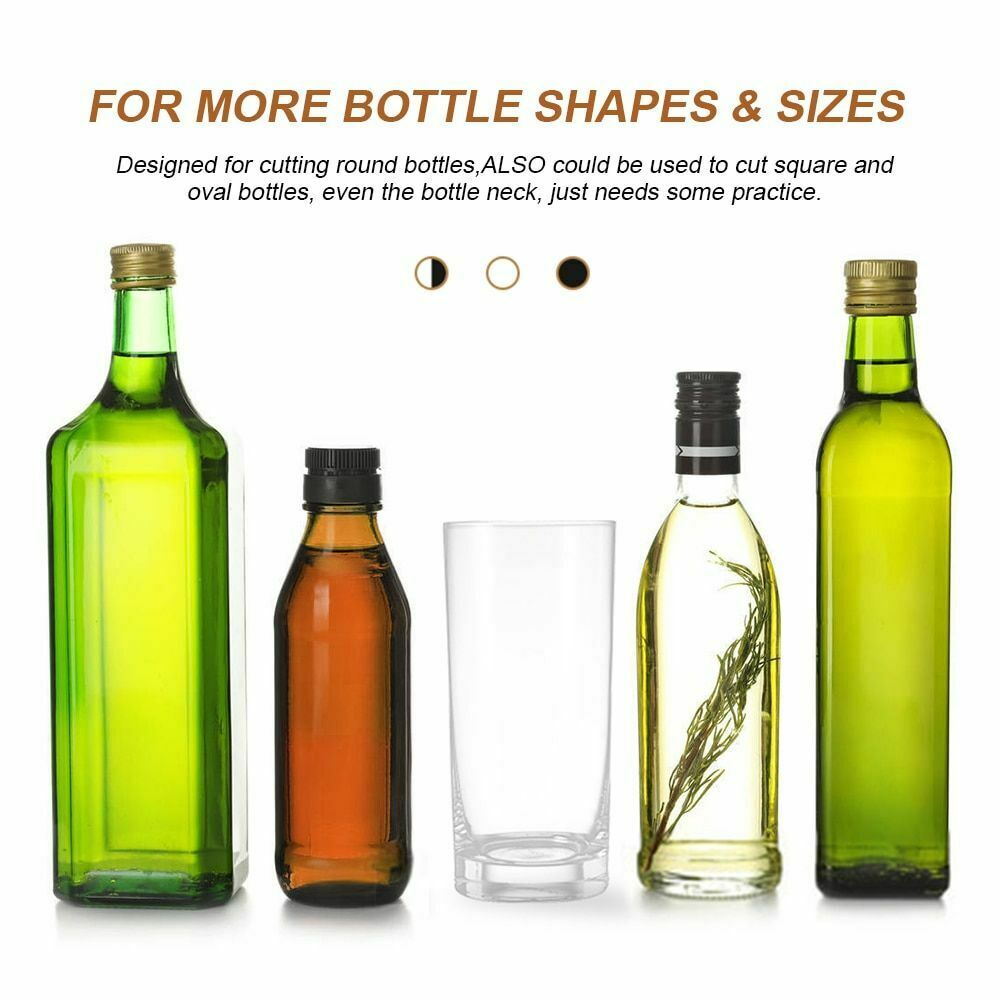 как выглядит Glass Bottle Cutter Kit DIY Machine Cutting Wine Beer Whiskey Alcohol Champagne фото