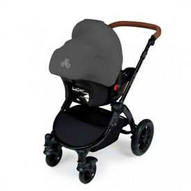 Ickle Bubba Galaxy car seat and isofix in grey BRAND NEW