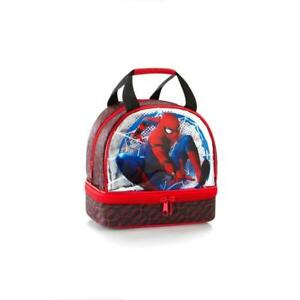 Marvel Deluxe Boys Lunch Bag - 8 Inch Lunch Bag for Kids [Spiderman]