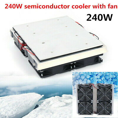 240w Refrigeration Plate Cooler Semiconductor Peltier Cold Cooling Fan Summer