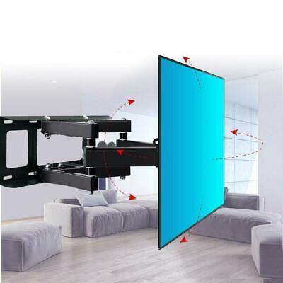 """Articulating Full Motion TV Wall Mount Swivel Tilt For 42"""" 43"""" 47"""" 50"""" 55"""" 60"""" 65"""" 70"""""""