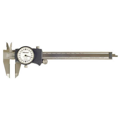 Mitutoyo 505-744 Dial Caliper6in0.200revcarbide