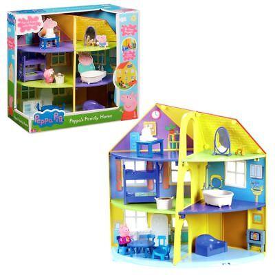 Peppas Haus | Spielset | Peppa Wutz | Peppa Pig | Familienhaus mit Zubehör