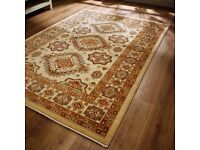 Beautiful Persia Rug from the Flair Rug Range, Ahvaz Cream/Red