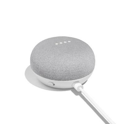 Google Home Mini Smart Home Assistant Small Speaker - Chalk Grey