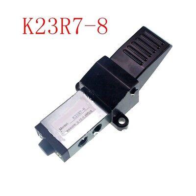 Solenoid Valve G 14 Air Pneumatic Foot Pedal Manual 2 Position 3 Way K23r7-8