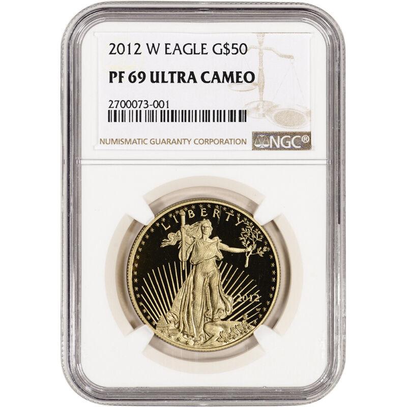 2012-W American Gold Eagle Proof (1 oz) $50 - NGC PF69 UCAM