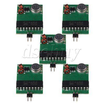 5x 433mhz Wireless Remote Control Transmitter Board Module Fixed Code