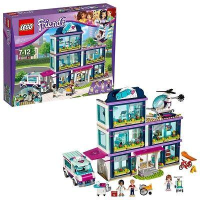 Lego Freunde Hart Lake City Krankenhaus 4131 871piece aus Japan (Freunde Lego-haus)