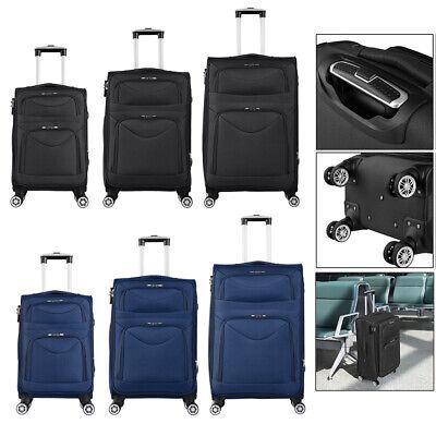 Reisekoffer stoff Weichgepäck Trolley Stoffkoffer Handgepäck Reise M L XL
