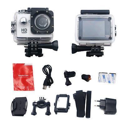 Full HD 1080P Action Sports Helmet Camera Waterproof  Car DV Video 2