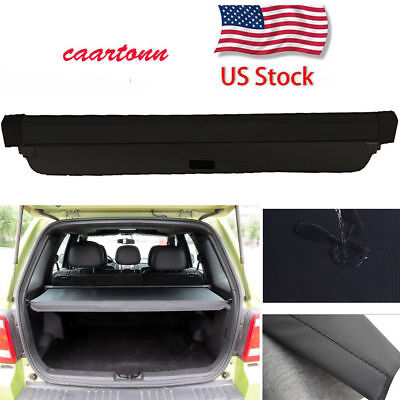 2008 Ford Escape Cargo (For Ford Escape 2008-2012 Trunk Cargo Cover Security Trunk Shade Shield Black )