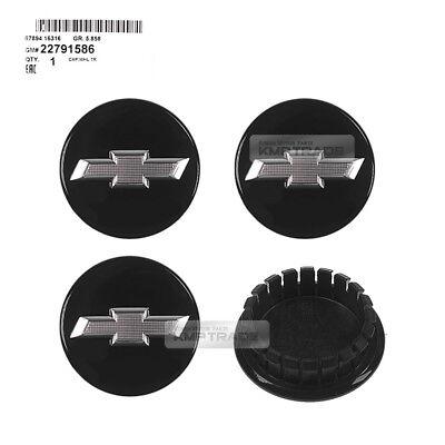 OEM Parts Wheel Center Cap Black 4Pcs For CHEVROLET Cruze Volt Impala Camaro