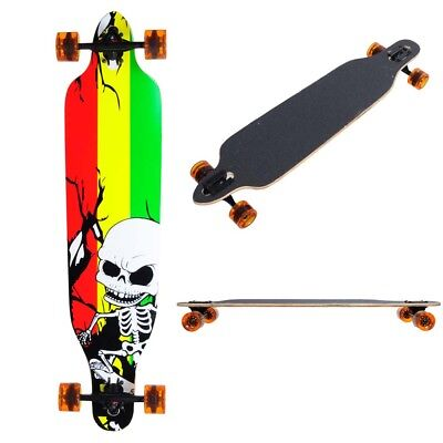 "41"" x 9 3/4"" Longboard Complete Cruiser Skateboard Downhill Canadian Maple Deck"
