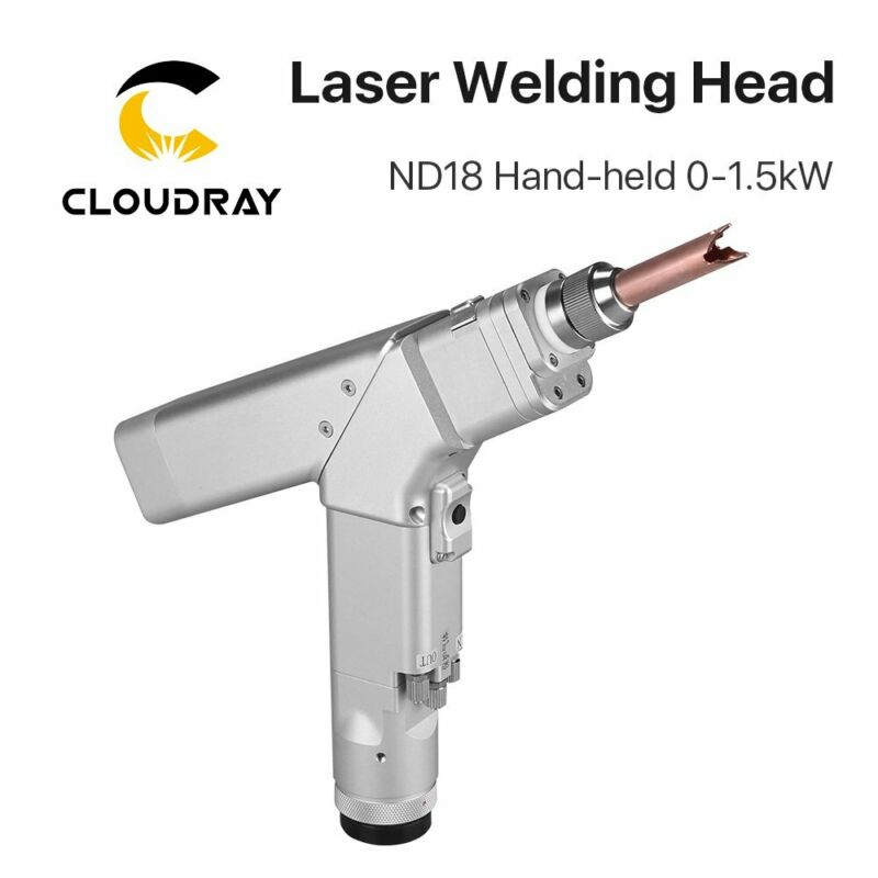Laser Welding Head WSX 0-1.5KW ND18 Hand-held with QBH Connector for Fiber Laser