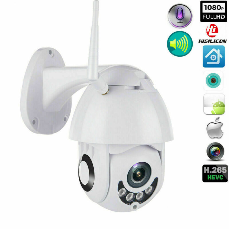 1080P WIFI IP Camera Wireless Outdoor CCTV HD Home Security IR Cam Night Vision