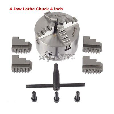 K12-100 Lathe Chuck 4 Jaw 4 Inch 4-jaw Self Centering Lathe Chuck For Cnc Topusa