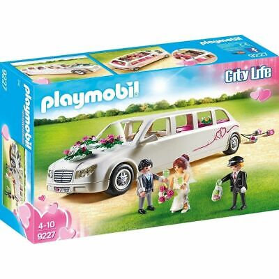 Limusina nupcial Playmobil (9227) boda City Life coche de juguete con figuras