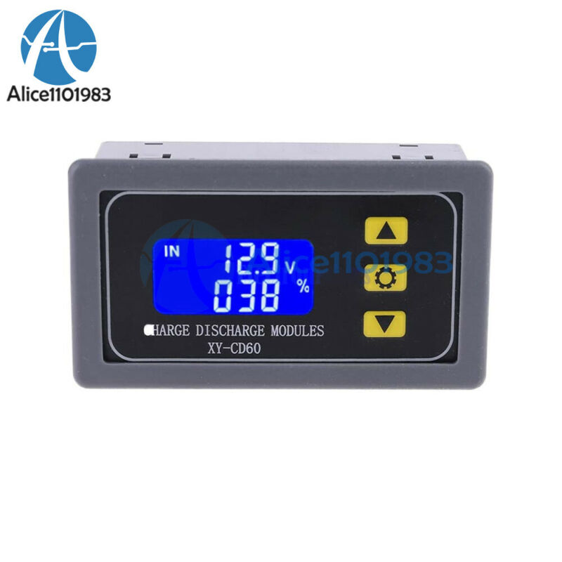 LCD Battery Charger Controller DC6V-60V Charge Discharge Protection Module