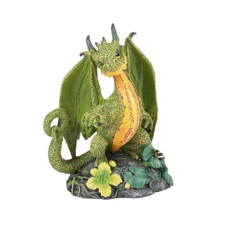 Cantaloupe Dragon Figurine by Stanley Morrison