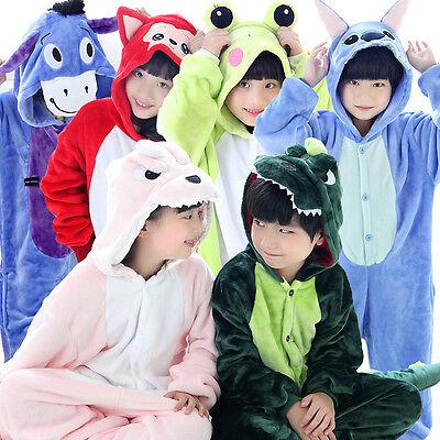 Best selling unisex children Kigurumi pajamas anime cosplay costume Sleepwear - Best Kids Pjs