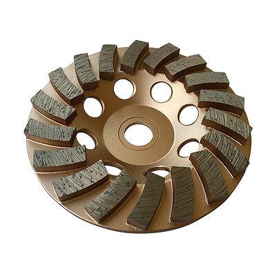 4.5 Concrete Grinding Cup Wheels 18 Diamond Abrasive Seg 78-58 Arbor
