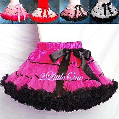 CLEARANCE SALE Girl Pettiskirt Petticoat Tutu Birthdat Party Skirt SZ 2T-8 - Birthdat Party