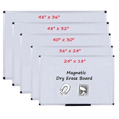Viz-pro Magnetic Dry Erase Board Whiteboard Home Office School Aluminium Frame