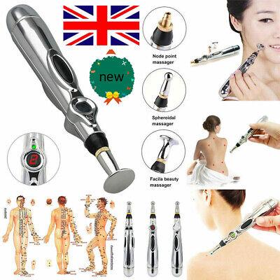 Electronic Acupuncture Pen Electric Meridian Body Massager Pain Relief Therapy tweedehands  verschepen naar Netherlands