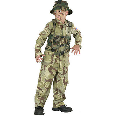 Delta Force Child Costume - Official Look Desert Army Gear - Camouflage - Desert Army Costume