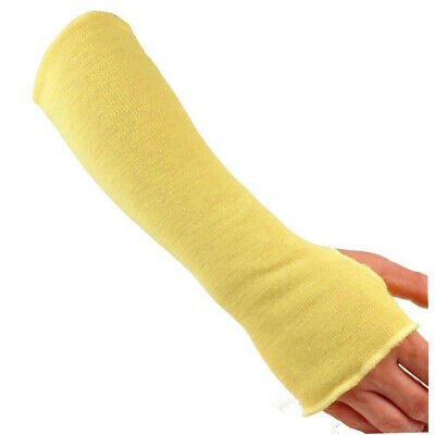 1 Pair 2 Each 18 Inch Cut Resistant Sleeves W Thumb Holes Made With Kevlar