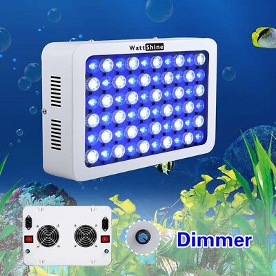 LED Aquarium Light Dimmable 180W For Tank Reef Fish Coral Lights Saltwater Fish